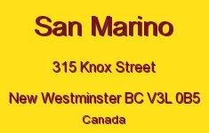 San Marino 315 KNOX V3L 0B5