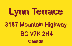 Lynn Terrace 3187 MOUNTAIN V7K 2H4