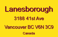 Lanesborough 3188 41ST V6N 3C9