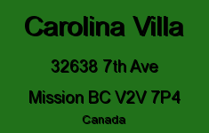 Carolina Villa 32638 7TH V2V 7P4