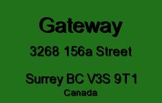 Gateway 3268 156A V3S 9T1
