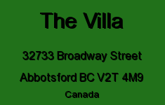 The Villa 32733 BROADWAY V2T 4M9