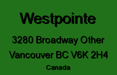 Westpointe 3280 BROADWAY V6K 2H4