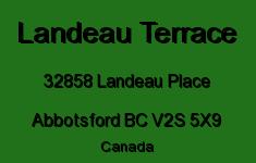 Landeau Terrace 32858 LANDEAU V2S 5X9