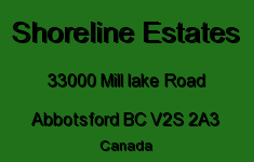 Shoreline Estates 33000 MILL LAKE V2S 2A3