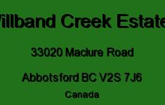 Willband Creek Estates 33020 MACLURE V2S 7J6