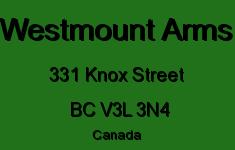 Westmount Arms 331 KNOX V3L 3N4