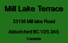 Mill Lake Terrace 33136 MILL LAKE V2S 2A5