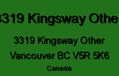 3319 Kingsway Other 3319 KINGSWAY V5R 5K6