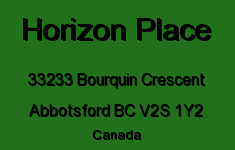 Horizon Place 33233 BOURQUIN V2S 1Y2