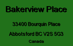 Bakerview Place 33400 BOURQUIN V2S 5G3
