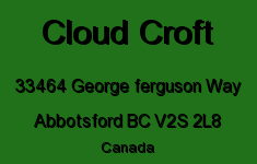 Cloud Croft 33464 GEORGE FERGUSON V2S 2L8