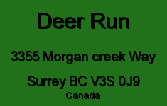 Deer Run 3355 MORGAN CREEK V3S 0J9