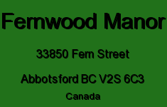 Fernwood Manor 33850 FERN V2S 6C3