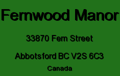 Fernwood Manor 33870 FERN V2S 6C3