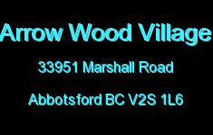 Arrow Wood Village 33951 MARSHALL V2S 1L6