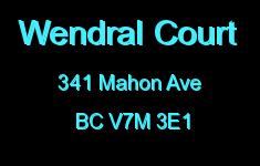 Wendral Court 341 MAHON V7M 3E1