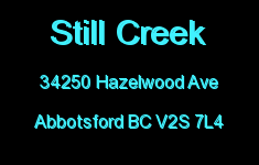 Still Creek 34250 HAZELWOOD V2S 7L4