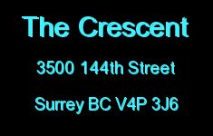 The Crescent 3500 144TH V4P 1B7