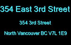 354 East 3rd Street 354 3RD V7L 1E9