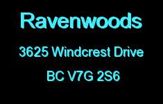 Ravenwoods 3625 WINDCREST V7G 2S6