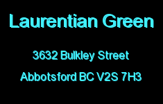 Laurentian Green 3632 BULKLEY V2S 7H3