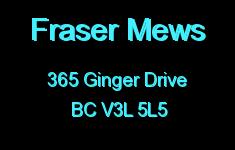 Fraser Mews 365 GINGER V3L 5L5