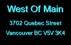 West Of Main 3702 QUEBEC V5V 3K4