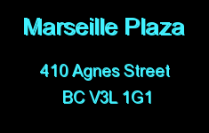 Marseille Plaza 410 AGNES V3L 1G1