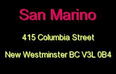 San Marino 415 COLUMBIA V3L 0B4