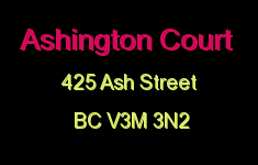 Ashington Court 425 ASH V3M 3N2