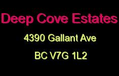 Deep Cove Estates 4390 GALLANT V7G 1L2
