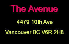 The Avenue 4479 10TH V6R 2H8