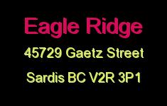 Eagle Ridge 45729 GAETZ V2R 3P1