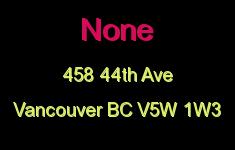 None 458 44TH V5W 1W3