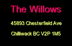 The Willows 45893 CHESTERFIELD V2P
