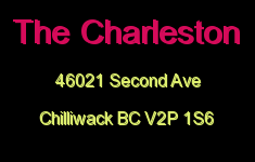 The Charleston 46021 SECOND V2P 1S6