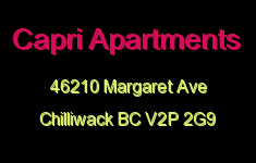 Capri Apartments 46210 MARGARET V2P 2G9