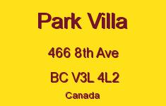 Park Villa 466 8TH V3L 4L2