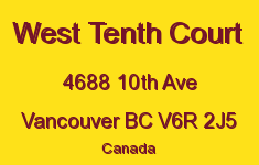 West Tenth Court 4688 10TH V6R 2J5