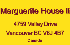 Marguerite House Ii 4759 VALLEY V6J 4B7