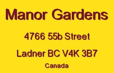 Manor Gardens 4766 55B V4K 3B7