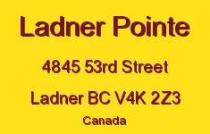 Ladner Pointe 4845 53RD V4K 2Z3