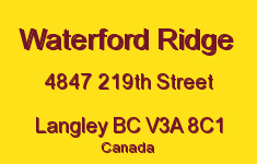 Waterford Ridge 4847 219TH V3A 3R9