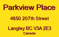 Parkview Place 4850 207TH V3A 2E3