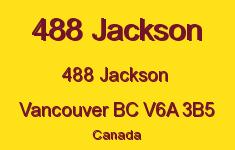 488 Jackson 488 JACKSON V6A 3B5