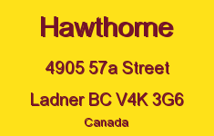 Hawthorne 4905 57A V4K 3G6