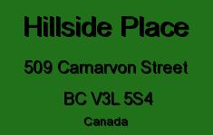 Hillside Place 509 CARNARVON V3L 5S4