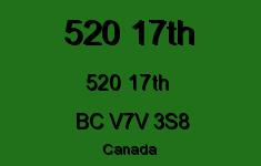 520 17th 520 17TH V7V 3S8