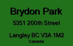 Brydon Park 5351 200TH V3A 1M2